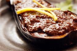 茄子の肉味噌田楽